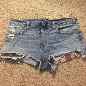 COPY - Ralph Lauren boyfriend cut off Jean short